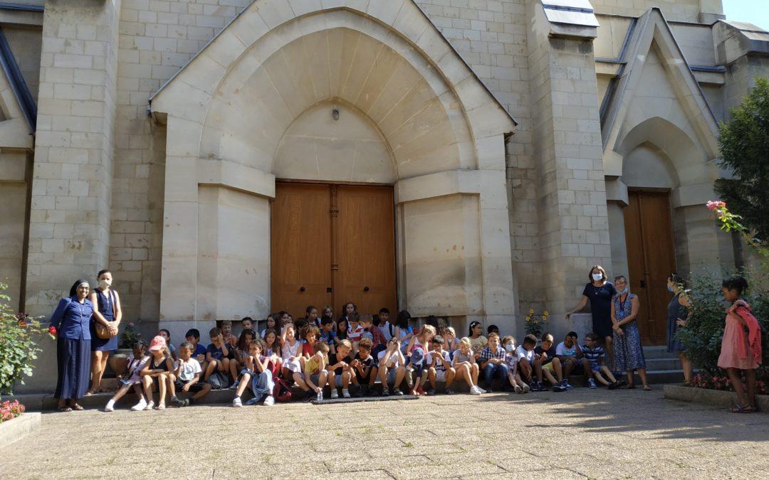 Visite de la Congrégation des sœurs de Saint Joseph de Cluny